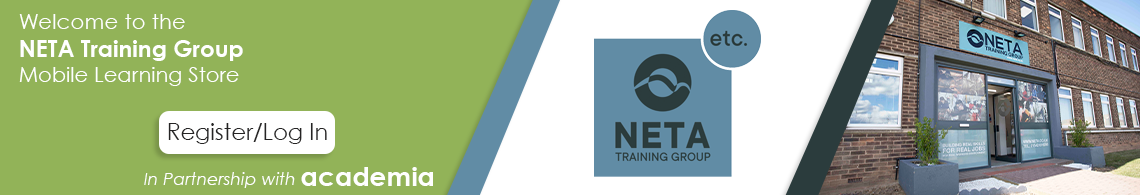 Welcome to the NETA Training Group Mobile Learning Store